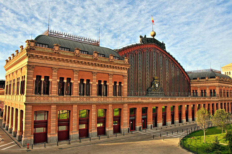 Estación de Madrid Atocha