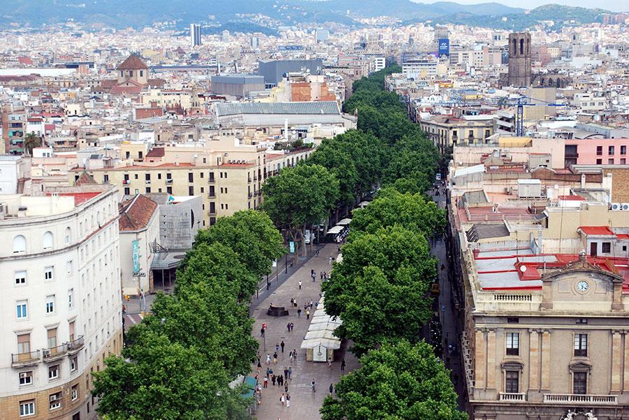 Centre de Barcelone