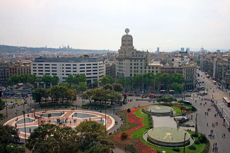 Plaza de Cataluña Barcelona