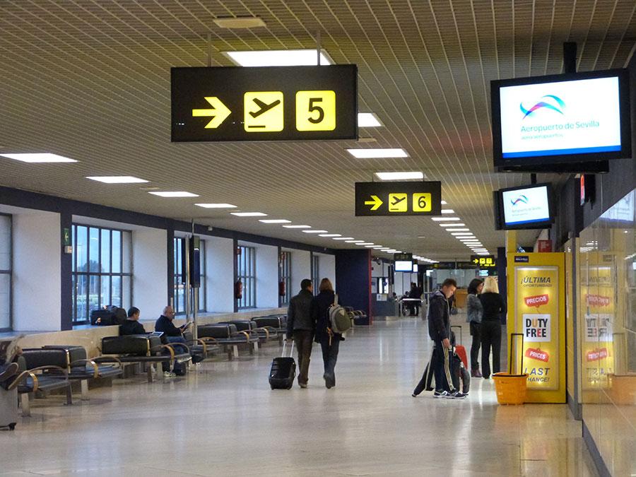 Aéroport de Séville-San Pablo