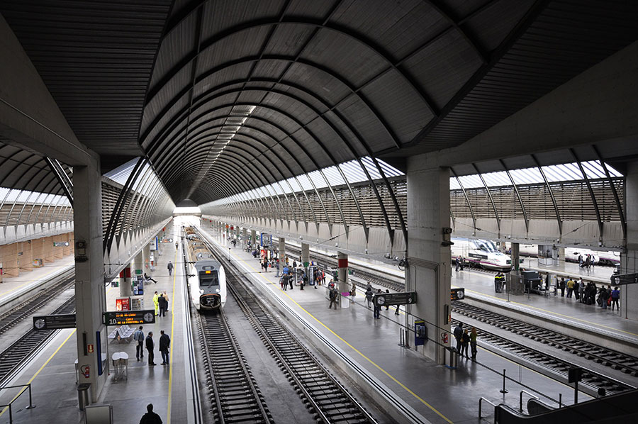 Estación de Santa Justa Sevilla